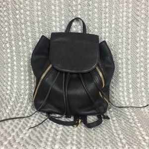 Rebecca Minkoff Bryn Black Leather Backpack
